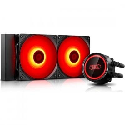 En ucuz Deep Cool Gammaxx L240T Red 240mm Intel-AMD Uyumlu Sıvı Soğutucu  Fiyatı