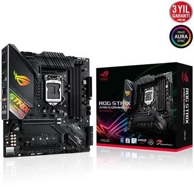En ucuz Asus Rog Strix Z490-G Gaming 4600mhz(OC) RGB M.2 Wi-Fi 1200p mATX Anakart Fiyatı