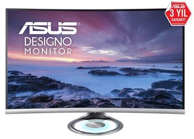 """En ucuz Asus 32"""" MX32VQ Designo 4ms 60hz HDMI,DPPort 2K Curved Monitör Fiyatı"""