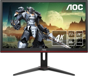 "En ucuz Aoc 28"" G2868PQU 1ms 60Hz HDMI,VGA,DisplayPort FreeSync 4K Gaming Monitör Fiyatı"