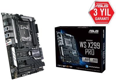 En ucuz Asus WS X299 Pro 4133mhz(OC) M.2 2066p ATX Anakart Fiyatı