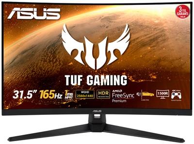 "Asus 31.5"" VG32VQ1BR 1ms 165hz HDMI,DisplayPort FreeSync 2K Curved Gaming Monitör"