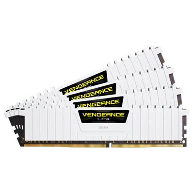 En ucuz Corsair 32GB(4x8) Vengeance LPX 3200mhz CL16 DDR4  Ram (CMK32GX4M4B3200C16W) Fiyatı