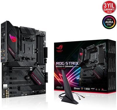 En ucuz Asus ROG Strix B550-F Gaming 4600mhz(OC) RGB M.2 Wi-Fi AM4 ATX Anakart Fiyatı