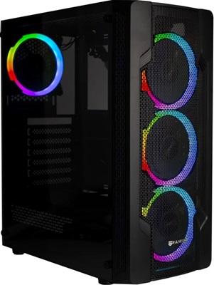 Ranker Virgo 650W 80+ RGB Tempered Glass USB 3.0 ATX Mid Tower Kasa