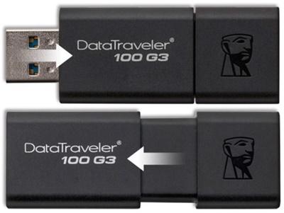 Kingston 128GB DT 100G3 USB 3.0 DT100G3/128GB USB Bellek