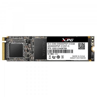 XPG 512GB SX6000 Pro NVMe Okuma 2100MB-Yazma 1500MB M.2 SSD (ASX6000PNP-512GT-C)