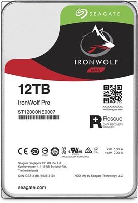 Seagate 12TB Ironwolf Pro 256MB 7200rpm (ST12000NE0007) NAS Diski
