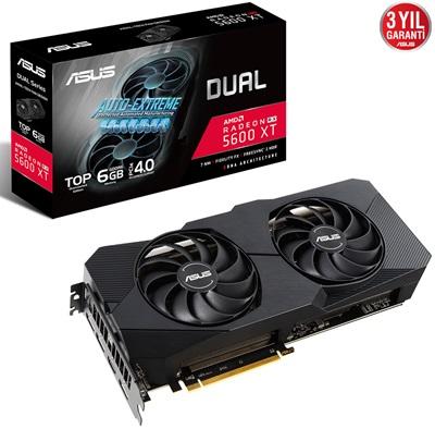 En ucuz Asus Radeon RX5600XT Dual T6G Evo 6GB GDDR6 192 Bit Ekran Kartı Fiyatı