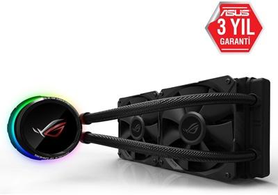 En ucuz Asus ROG Ryuo RGB 240 mm Intel-AMD Uyumlu Sıvı Soğutucu  Fiyatı