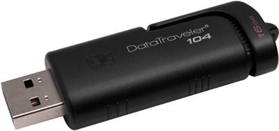 Kingston 16GB Data Traveler 104 USB 2.0 DT104/16GB USB Bellek