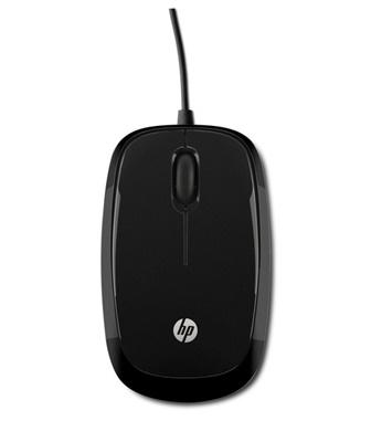 HP X1200 Siyah  USB Mouse