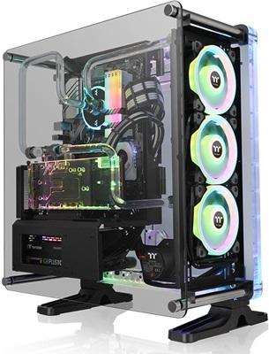 Thermaltake DistroCase 350P Tempered Glass RGB USB 3.0 ATX Mid Tower Kasa