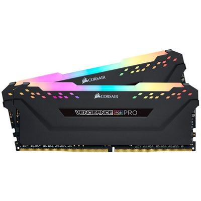 Corsair 32GB(2x16) Vengeance RGB Pro Siyah 3000mhz CL15 DDR4  Ram(CMW32GX4M2C3000C15)