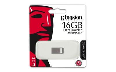 Kingston 16GB DT Micro USB 3.1 DTMC3/16 USB Bellek