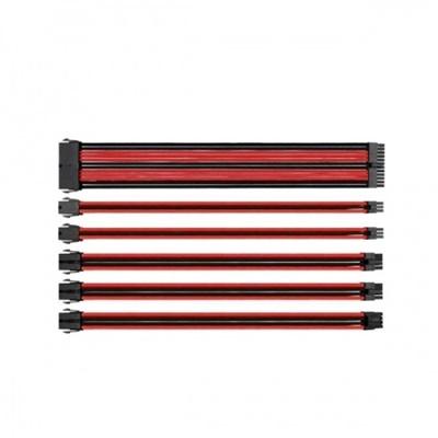Thermaltake Tt Mod Kırmızı/Siyah Power Supply Sleeved Kablo Seti