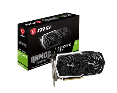 MSI GeForce GTX 1660 Ti Armor 6G OC 6GB GDDR6 192 Bit Ekran Kartı