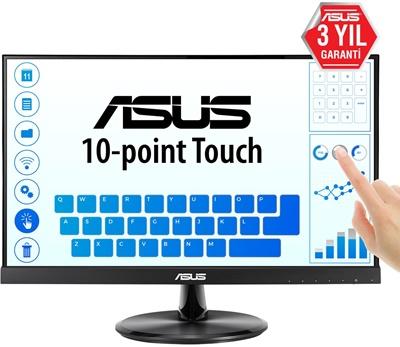 """En ucuz Asus 21.5"""" VT229H 5ms 60Hz HDMI,D-Sub Dokunmatik IPS Monitör Fiyatı"""
