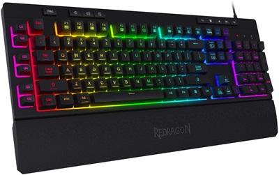 Redragon K512 Shiva RGB Membrane Gaming Klavye