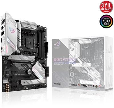 En ucuz Asus Rog Strix B550-A Gaming 5100mhz(OC) RGB M.2 AM4 ATX Anakart Fiyatı