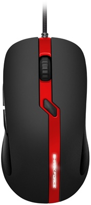 Sharkoon Shark Force PRO Siyah/Kırmızı Optik Gaming Mouse