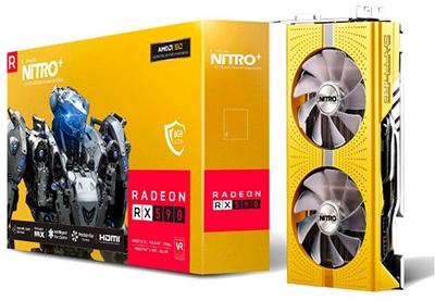 En ucuz Sapphire Radeon RX590 8G D5 Nitro+ OC Gold 8GB GDDR5 256 Bit Ekran Kartı Fiyatı