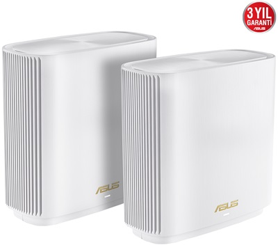 Asus ZenWiFi Gaming XT8 Kablosuz Ağ Dağıtım Mesh Sistemi (Beyaz İkili Paket)
