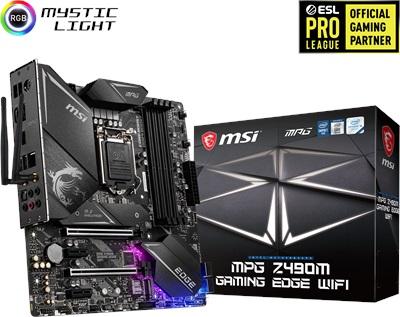 En ucuz MSI MPG Z490M Gaming Edge WiFi 4800mhz(OC) RGB M.2 1200p mATX Anakart Fiyatı