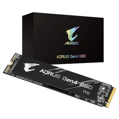 Gigabyte 1TB Aorus NVMe Okuma 5000MB-Yazma 4400MB M.2 SSD (GP-AG41TB)