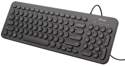 En ucuz Trust TRU23312 Muto Türkçe Q USB Klavye  Fiyatı