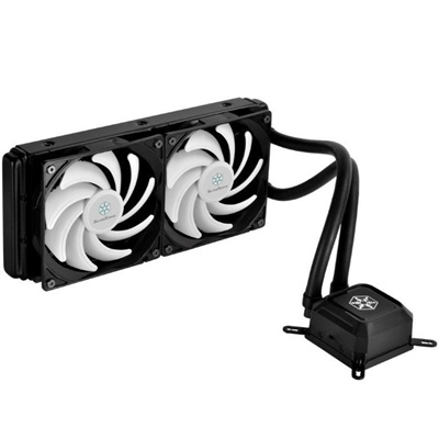 SilverStone Tundra TD02LITE 240 mm Beyaz Fan Intel-AMD Uyumlu Sıvı Soğutucu