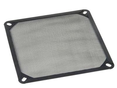 Akasa AK-GRM140-AL01-BK 14cm Full Aluminyum Temizlenebilir Siyah Fan Filtresi