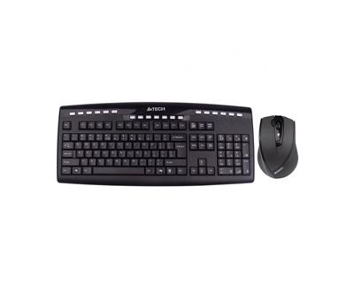 A4 Tech 9200F Türkçe Q  Kablosuz Klavye + Mouse Set