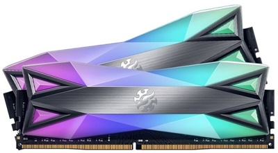 En ucuz XPG 16GB(2x8) Spectrix D60G RGB 3200mhz CL16 DDR4  Ram (AX4U320038G16-DT60) Fiyatı