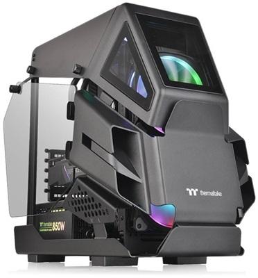 Thermaltake AH T200 Tempered Glass Siyah USB 3.0 mATX Mini Tower Kasa
