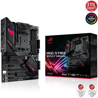 En ucuz Asus ROG Strix B550-F Gaming 4600mhz(OC) RGB M.2 AM4 ATX Anakart Fiyatı