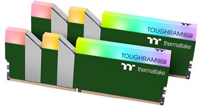 Thermaltake 16GB(2x8) Toughram RGB Racing Green 3600mhz CL18 DDR4  Ram (RG28D408GX2-3600C18A)