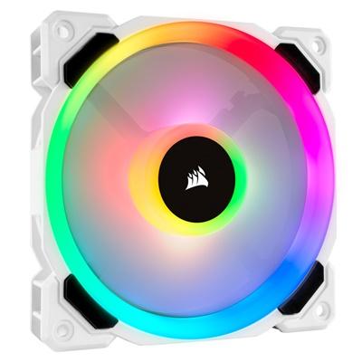 Corsair LL120 Dual Light Loop White RGB 120 mm Fan