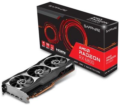 En ucuz Sapphire Radeon RX6800 16G 16GB GDDR6 256 Bit Ekran Kartı Fiyatı