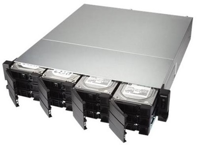 Qnap TS-1232XU-RP  4GB NAS Cihazı