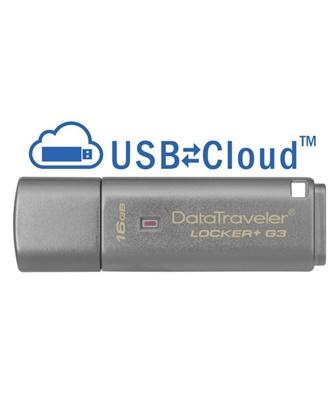 Kingston 16GB Data Traveler Locker+ G3 USB 3.0 DTLPG3/16GB USB Bellek