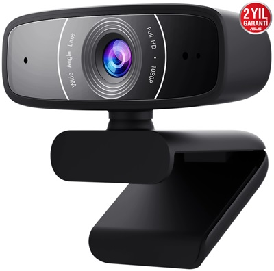 Asus C3 1080P Webcam (90YH0340-B2UA00)