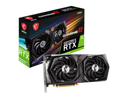 MSI GeForce RTX 3060 Ti Gaming X 8GB GDDR6 256 Bit Ekran Kartı