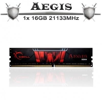 G.Skill 16GB Aegis 2133mhz CL15 DDR4  Ram (F4-2133C15S-16GIS)
