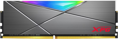 XPG 8GB Spectrix D50 RGB 3600mhz CL18 DDR4  Ram (AX4U360038G18A-ST50)