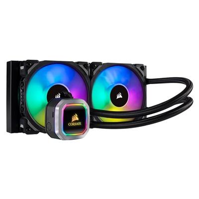 En ucuz Corsair Hydro Series H100i RGB Platinum 240 mm Intel-AMD Uyumlu Sıvı Soğutucu  Fiyatı