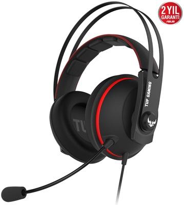 Asus TUF Gaming H7 Core Red Gaming Kulaklık