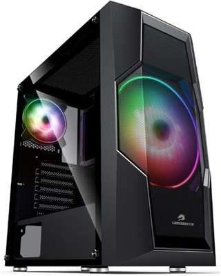 GameBooster GB-G2057B Tempered Glass RGB USB 3.0 ATX Mid Tower Kasa