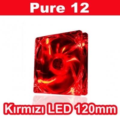 Thermaltake Pure 12 Kırmızı Led 120 mm Fan