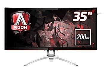 "Aoc 35"" AG352QCX Agon 4ms 200hz VGA,DPPort,HDMI,DVI FressSync 2K Curved Gaming Monitör"